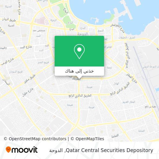 خريطة Qatar Central Securities Depository
