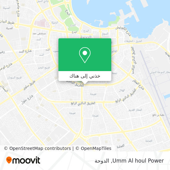 خريطة Umm Al houl Power