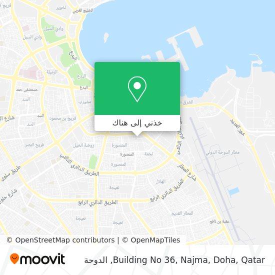 خريطة Building No 36, Najma, Doha, Qatar