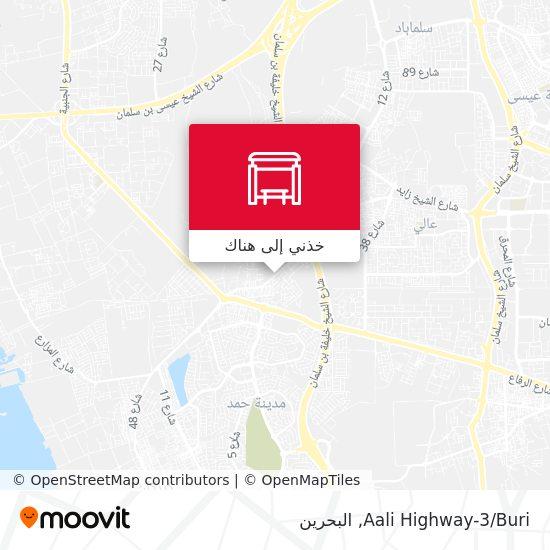 خريطة Aali Highway-3/Buri