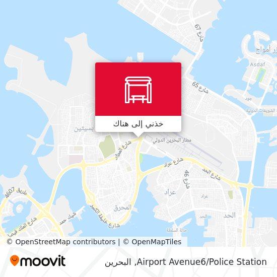 خريطة Airport Avenue6/Police Station