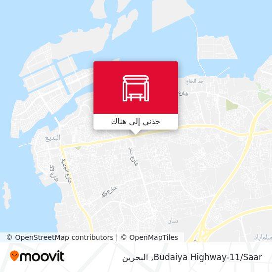 خريطة Budaiya Highway-11/Saar