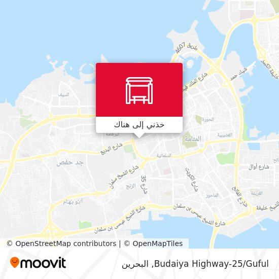 خريطة Budaiya Highway-25/Guful
