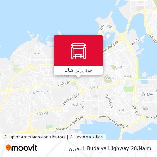 خريطة Budaiya Highway-28/Naim