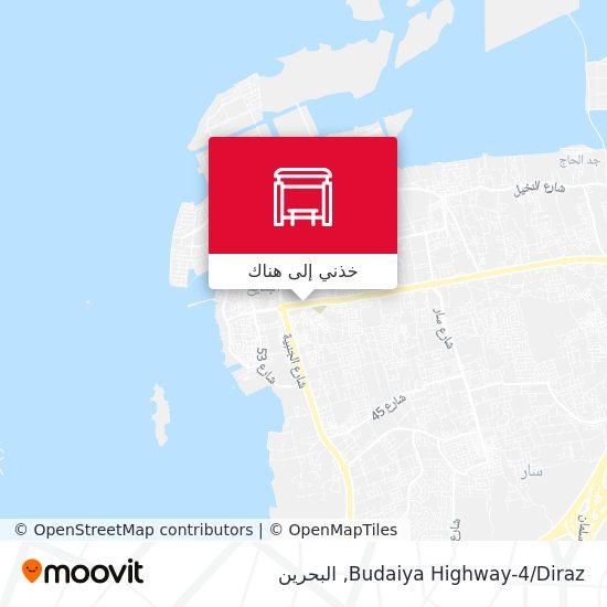 خريطة Budaiya Highway-4/Diraz