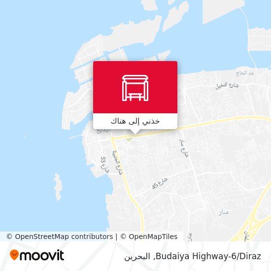 خريطة Budaiya Highway-6/Diraz