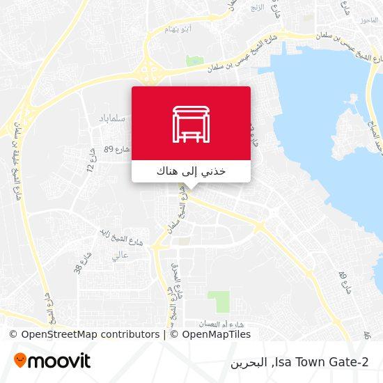 خريطة Isa Town Gate-2