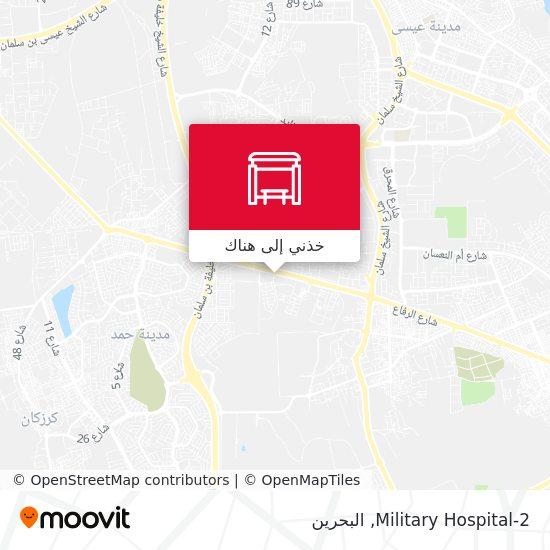 خريطة Military Hospital-2