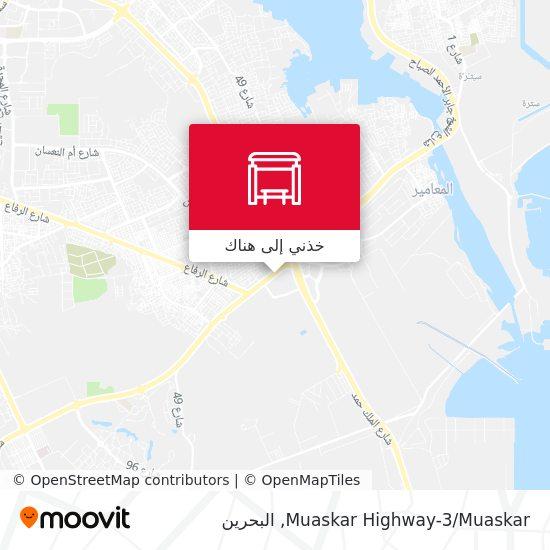 خريطة Muaskar Highway-3/Muaskar