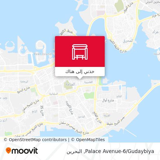 خريطة Palace Avenue-6/Gudaybiya
