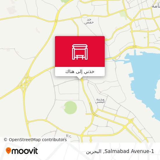 خريطة Salmabad Avenue-1