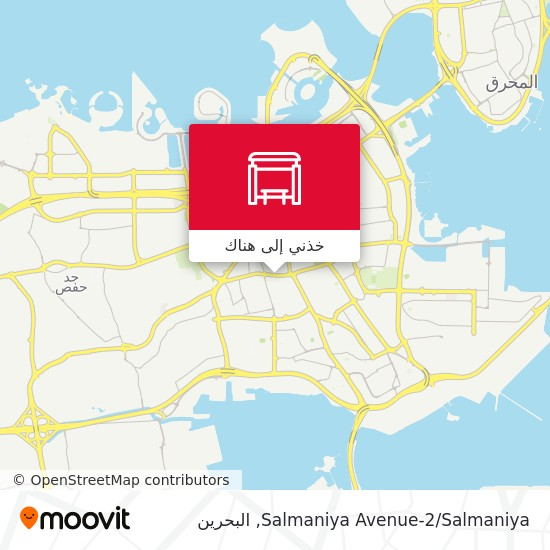 خريطة Salmaniya Avenue-2/Salmaniya