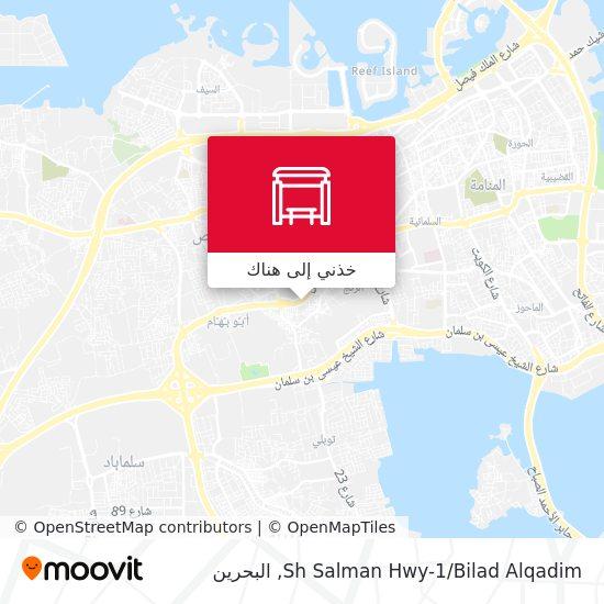خريطة Sh Salman Hwy-1/Bilad Alqadim