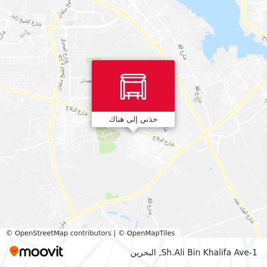 خريطة Sh.Ali Bin Khalifa Ave-1