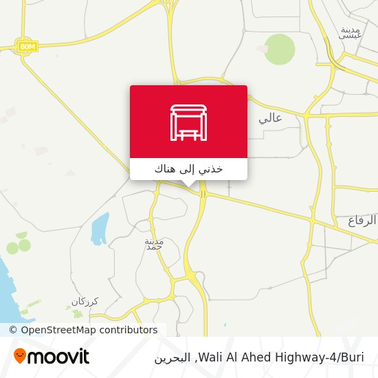 خريطة Wali Al Ahed Highway-4/Buri
