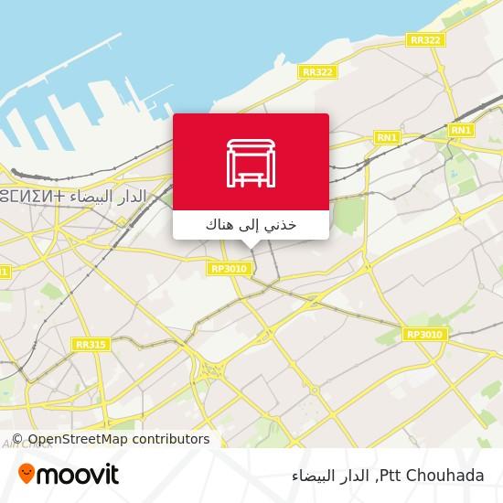 خريطة Ptt Chouhada