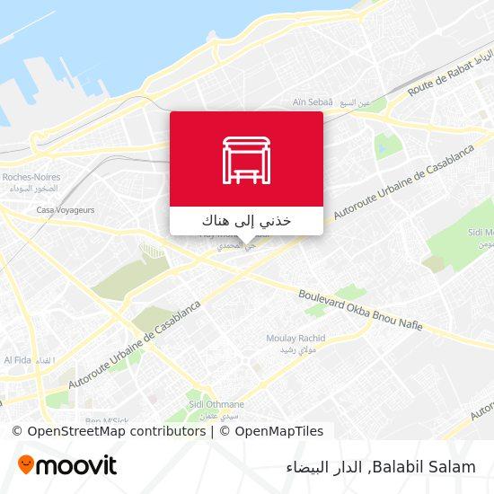 خريطة Balabil Salam