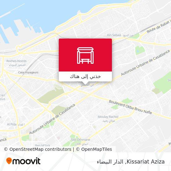 خريطة Kissariat Aziza
