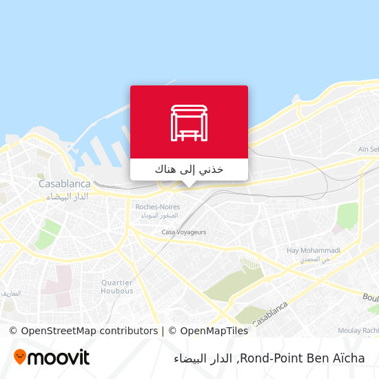 خريطة Rond-Point Ben Aïcha