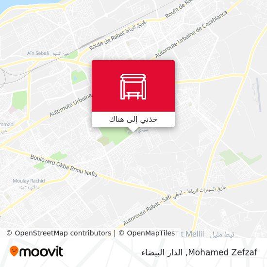 خريطة Mohamed Zefzaf