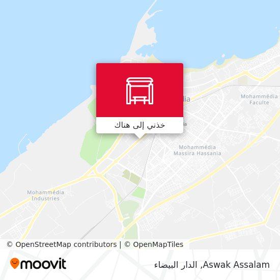 خريطة Aswak Assalam