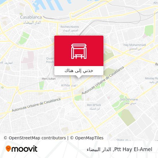 خريطة Ptt Hay El-Amel