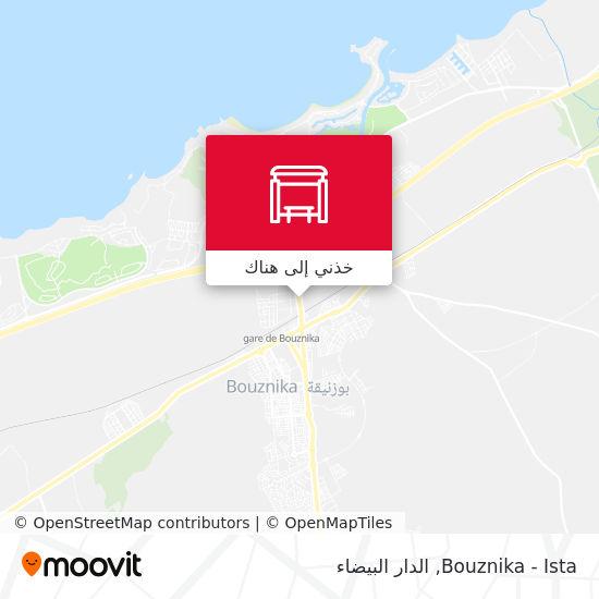 خريطة Bouznika - Ista