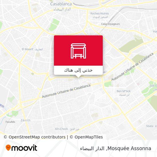 خريطة Mosquée Assonna