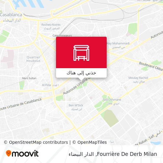 خريطة Fourrière De Derb Milan
