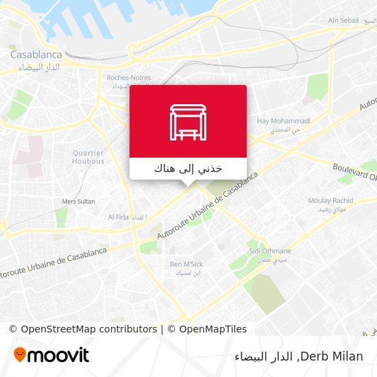 خريطة Derb Milan