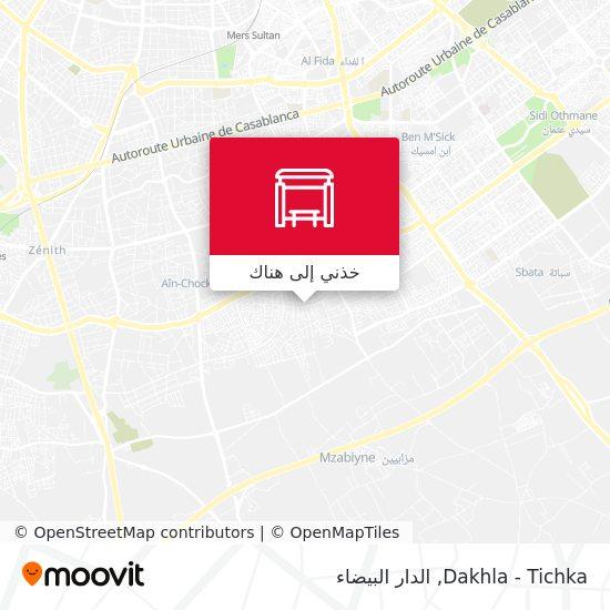 خريطة Dakhla - Tichka