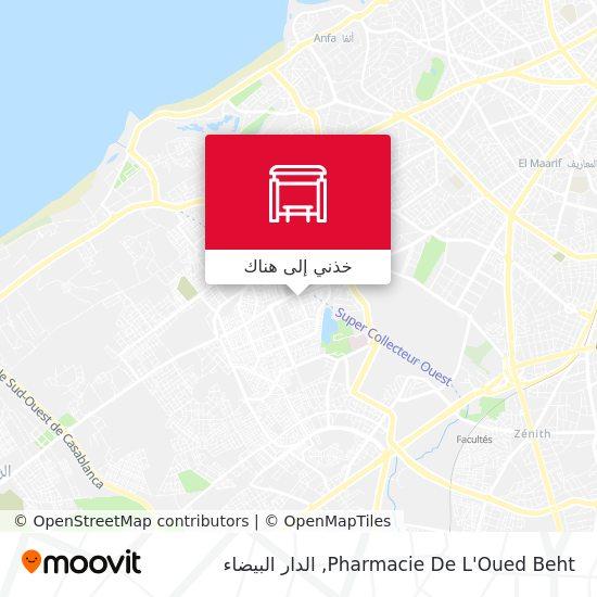 خريطة Pharmacie De L'Oued Beht