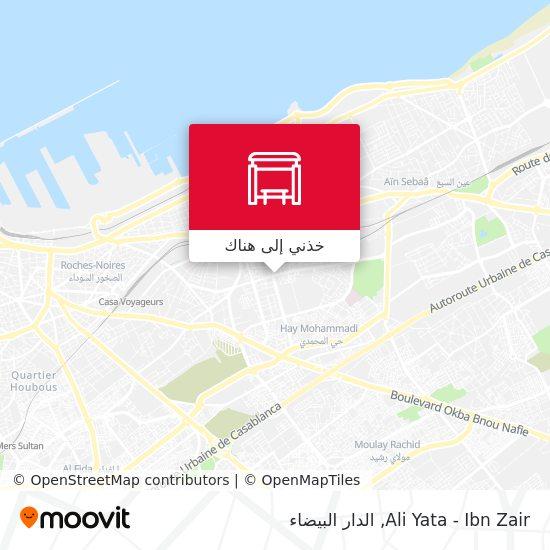 خريطة Ali Yata - Ibn Zair