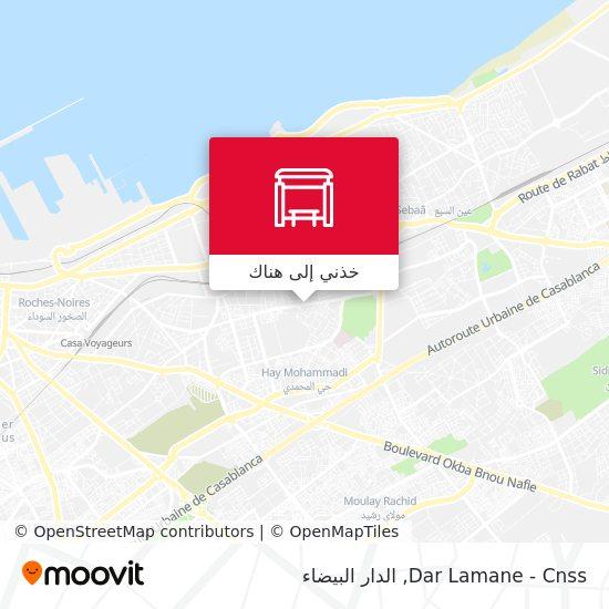 خريطة Dar Lamane - Cnss