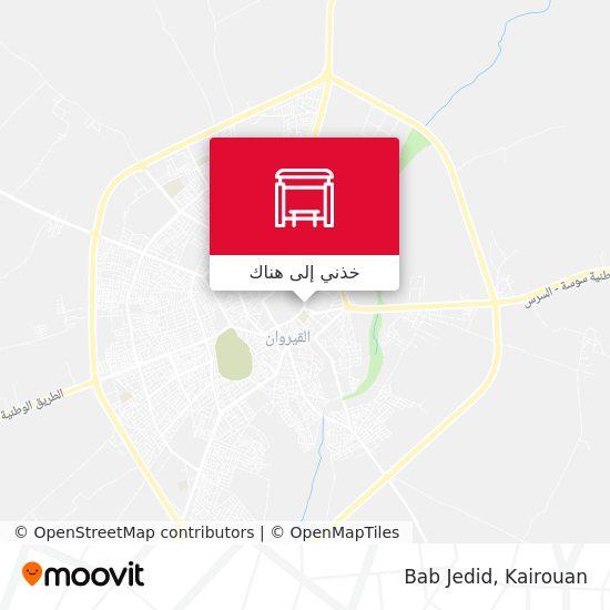خريطة Bab Jedid