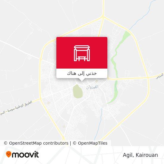 خريطة Agil