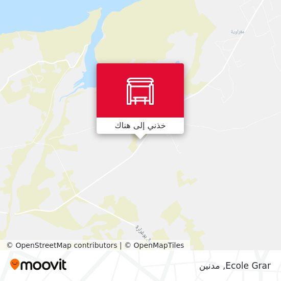 خريطة Ecole Grar