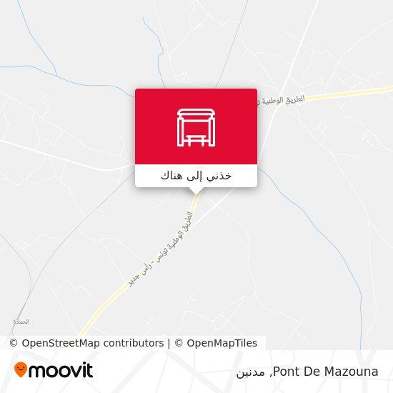 خريطة Pont De Mazouna