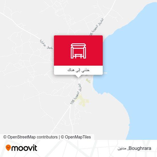 خريطة Boughrara