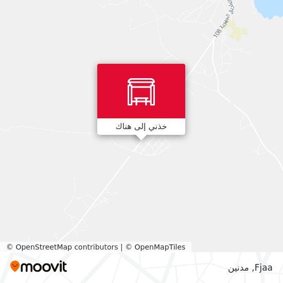 خريطة Fjaa