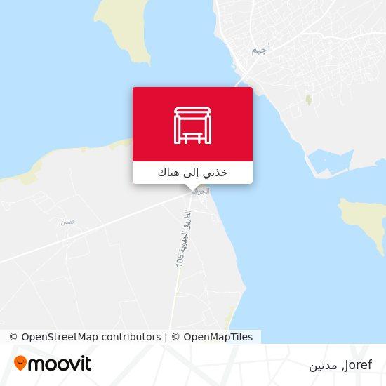 خريطة Joref