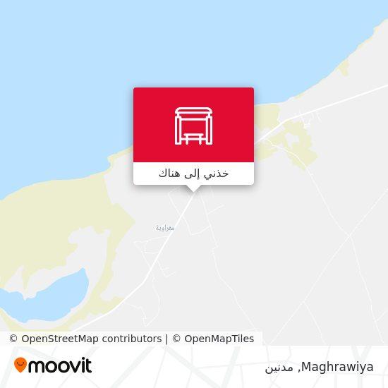خريطة Maghrawiya