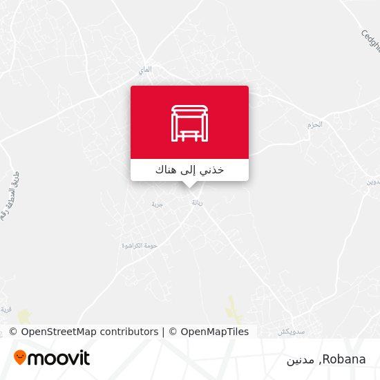 خريطة Robana