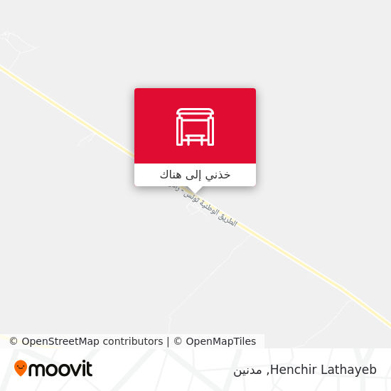 خريطة Henchir Lathayeb