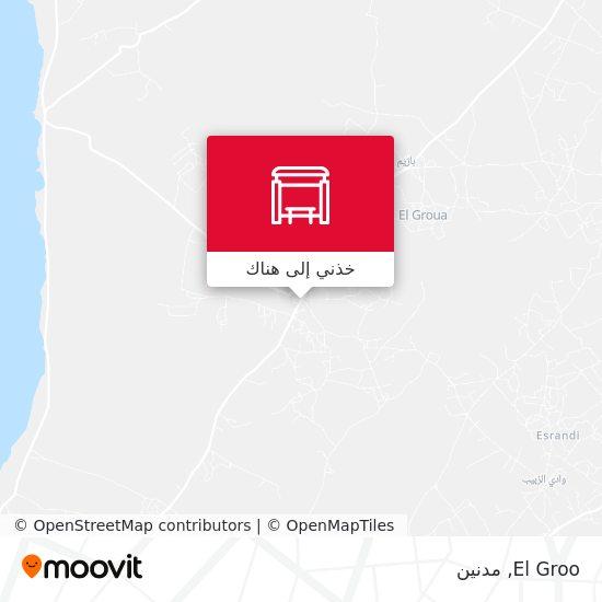 خريطة El Groo
