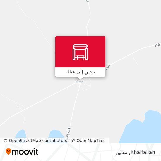 خريطة Khalfallah
