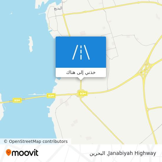 خريطة Janabiyah Highway