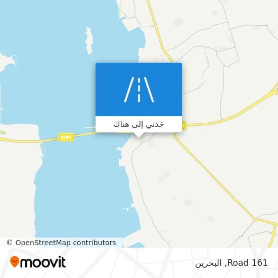 خريطة Road 161