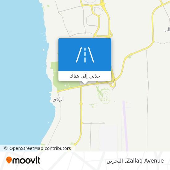 خريطة Zallaq Avenue