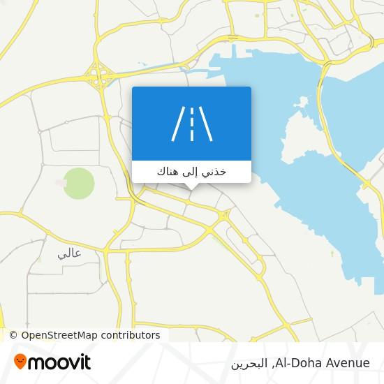 خريطة Al-Doha Avenue
